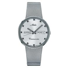 MIDO M8429.4.21.13 - Commander - Automatic - Analog - Jam Tangan Pria - Bahan Tali Stainless Steel - Silver