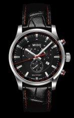 Mido Multifort Chronograph M005.417.16.051.20 - Jam Tangan Pria - Hitam