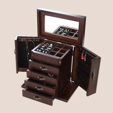 Toko Miki Korea Multifungsi Asesoris Kalung Gelang Kotak Koleksi Perhiasan Penyimpanan Kotak Terdekat