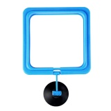 Beli Mini Fish Tank Aquarium Fish Feeder Feeding Ring Floating Food Circle Square Style Intl Terbaru