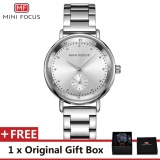 Spesifikasi Mini Focus Top Luxury Brand Watch Famous Fashion Dress Cool Women Quartz Watches Calendar Waterproof Stainless Steel Wristwatch For Female Mf0037L Intl Lengkap