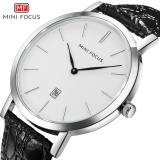 Spesifikasi Mini Focus Top Luxury Brand Watch Famous Fashion Sports Cool Men Quartz Watches Calendar Waterproof Leather Wristwatch For Male Mf0108G Intl Yang Bagus Dan Murah