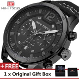 Beli Mini Focus Top Luxury Brand Watch Famous Fashion Sports Cool Men Quartz Watches Calendar Waterproof Nylon Wristwatch For Male Mf0006G Intl Pakai Kartu Kredit