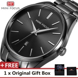 Beli Mini Focus Top Merek Mewah Menonton Terkenal Fashion Olahraga Cool Men Quartz Watches Calendar Waterproof Stainless Steel Jam Tangan Untuk Pria Mf0050G Intl Nyicil