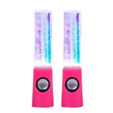 Mini LED Dancing Water Music Fountain Light Speaker For LAPTOP/Handphone/Telepon/MP3