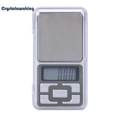 Mini Pocket LED Digital Perhiasan Skala Gram Keseimbangan Berat Timbangan Elektronik (Silver) -100g/0.01g-Intl