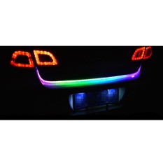Jual Miracle Shining Led Tail Trunk Strip Brake Stop Turn Signal Light Lamp Colorful Intl Miracle Shining Original