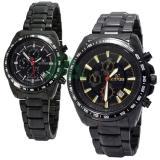 Jual Beli Online Mirage Couple Edition Date Jam Tangan Pasangan Stainless Steel Chain Mg 5T3S88