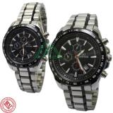 Review Mirage Couple Edition Jam Tangan Pasangan Stainless Steel Chain Mg 5T3D622 Di Dki Jakarta