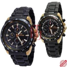 Jual Beli Mirage Couple Edition Jam Tangan Pasangan Stainless Steel Chain Mg 8110 Overseas Dki Jakarta