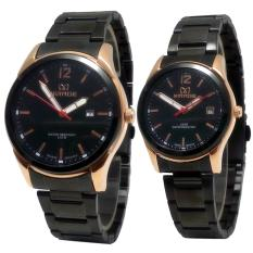 Toko Jual Mirage Date Jam Tangan Couple Stainless Steel Mg 5361 Overseas