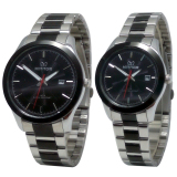 Diskon Produk Mirage Date Jam Tangan Couple Stainless Steel Mrg 715 Couple