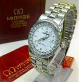 Spesifikasi Mirage Jam Tangan Fashion Wanita Strap Stainless Steel Mrg 7761 Silver Yang Bagus Dan Murah