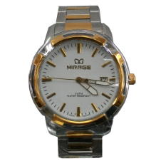 Jual Mirage Jam Tangan Pria Silver Gold Strap Stainless Mg912Ny Mirage Branded