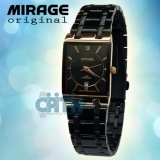 Harga Mirage Jam Tangan Wanita Hitam Gold Mg 4001Rg