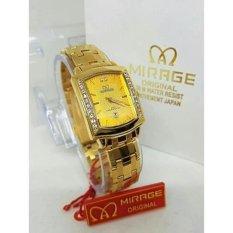 Toko Mirage Jam Tangan Wanita Original Strap Stainless Dekat Sini