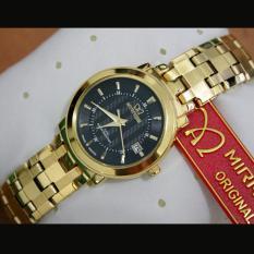 Mirage Jam Tangan Wanita Original - strap Stainless - Gold