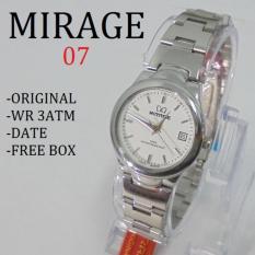 Mirage Jam Tangan Wanita Original - strap Stainless - MG 643