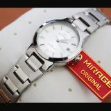 Review Mirage Jam Tangan Wanita Original Strap Stainless Silver