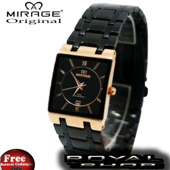 Beli sekarang Mirage - Jam Tangan Wanita - Stainless Steel - MRG 6609 BTH Black Rose Gold terbaik murah - Hanya Rp344.358