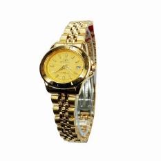 Mirage Mr2560 Jam Tangan Wanita Stainlesstell Stap Gold Murah