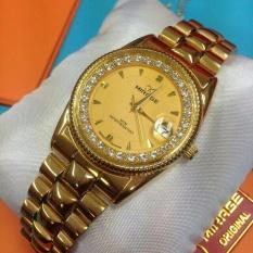 Beli Jam Tangan Wanita Mirage Japan Original Jam Tangan Wanita Gold Mr8987 Pakai Kartu Kredit