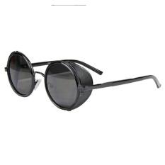 Dimana Beli Cermin Lensa Kacamata Kacamata Hitam Steampunk Cyber Bulat Hitam Oem