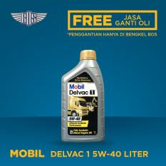 Mobil Delvac1 (5w-40) (1 Liter) - [ GRATIS SERVIS & JASA ]