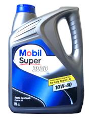 Mobil Super 2000 X2 10W-40 Semi Synthetic API SN / CF Galon 4L