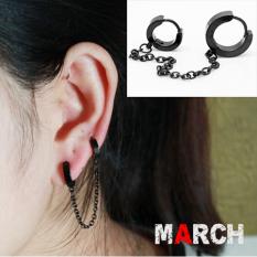Anting Modis Titanium Baja Rantai Telinga Anti Karat Ankle Engkel Weighted Bands Pasir Telinga