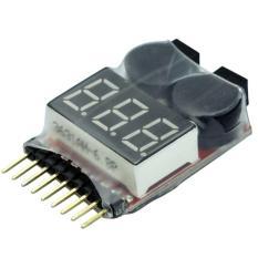 Modul 1-8S Lipo Battery Low Voltage Buzzer Checker Alarm RC Quadcopter Remote Control Module