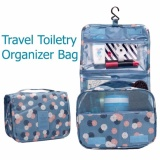 Montana Cotton Candy Tas Travel Penyimpan Toiletries Travel Toiletry Bag Cosmetics Make Up Organizer Motif Bunga Biru Diskon Akhir Tahun