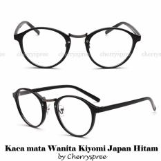 Ulasan Lengkap Springfield Kacamata Impor Wanita Kiyomi Japan Bingkai Bulat Warna Hitam Woman Eyeglasses Spectacles Black Round