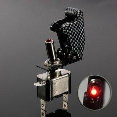 Jual Moonar 12 V 20A Mobil Otomatis Penutup Led Spst Atur Rocker Saklar On Off Control Merah Intl Tiongkok