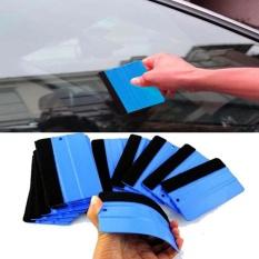Moonar Tahan Lama Anti-Scratch Wrapping Scraper Alat Squeegee untuk Mobil Film Kaca Biru-Intl