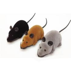 Toko Moonar Novelty Lucu Rc Remote Kontrol Nirkabel Rat Mouse Mainan Untuk Kucing Anjing Pet Acak Warna Yang Bisa Kredit