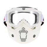 Harga Mortorcycle Topeng Dilepas Mata Dan Mulut Filter Untuk Wajah Terbuka Helm Motorcross Ski Snowboard International Oem Baru