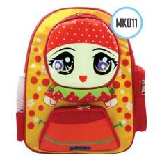 Moslem Kids Tas Ransel Anak Cewek Karakter Strawberry .