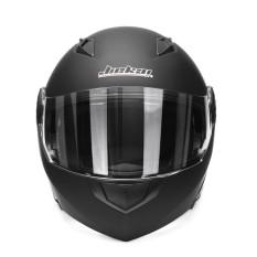 Helm Motocross Balap Motor Lipat Hingga Helm Motocicleta Casco Helm Universal (Warna Tidak Mengkilap Hitam) XL-Internasional