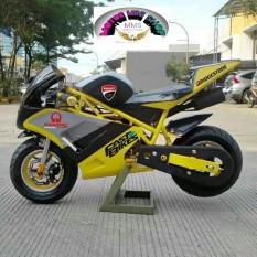 Motor mini gp force one racing 50cc