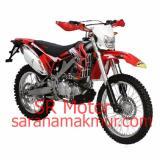 Harga Motor Trail Crossx 200 Es Merah Uang Muka Cicilan Viar Ori