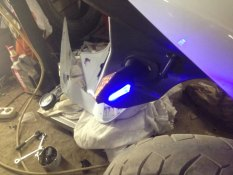 Harga Motor Trend Lampu Sein Motor Led Double Light Signal Sein 007 Warna Kuning Biru Online