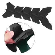 Review Motor 3D Gel Minyak Gas Tank Pad Fish Bone Protector Decal Sticker Pad Decor Hitam Intl Oem Di Tiongkok
