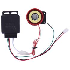 Motor Alarm Sistem Anti-pencurian Keamanan Alarm Sistem Remot Kontrol Mesin Mulai CR2032-Intl