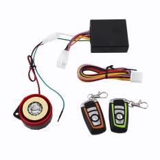 Motor Anti-Theft Alarm Sistem Keamanan Dua Arah Remote Control-Intl