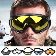 Beli Motorcycle Bike Road Atv Wind Proof Goggles Glasses Eyewear Clear Sunglasses New Intl Aukeycn Online