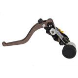 Dapatkan Segera Tuas Rem Sepeda Motor Kopling Silinder Master Reservoir Kiri Untuk Rem Hidrolik