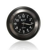 Review Pada Motorcycle Handlebar Mount Black Dial Clock Watch Waterproof Universal Hitam 7 8 Inci Intl