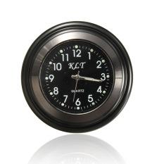 Harga Motorcycle Handlebar Mount Black Dial Clock Watch Waterproof Universal Hitam 7 8 Inci Intl Murah