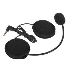 Harga Motor Helm Bluetooth Headset W Mic 3 5Mm Port Untuk Intercom Interphone Lengkap